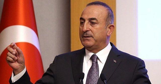 Bakan Çavuşoğlu'ndan kritik telefon görüşmesi!