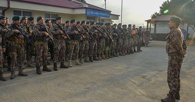 Barış Pınarı Harekatı bölgesine özel harekat desteği