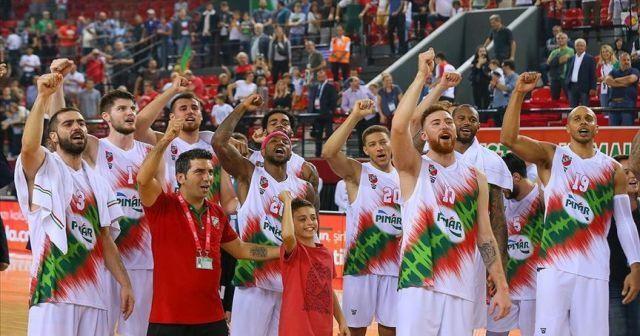 Basketbol Süper Ligi'nde tek namağlup Pınar Karşıyaka