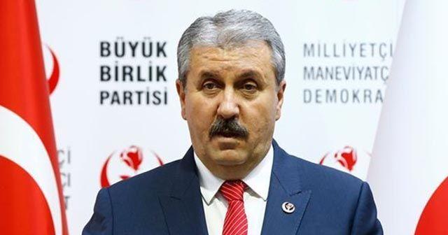 """BBP Genel Başkanı Destici: """"KKTC sözde cumhurbaşkanı azledilmelidir"""""""