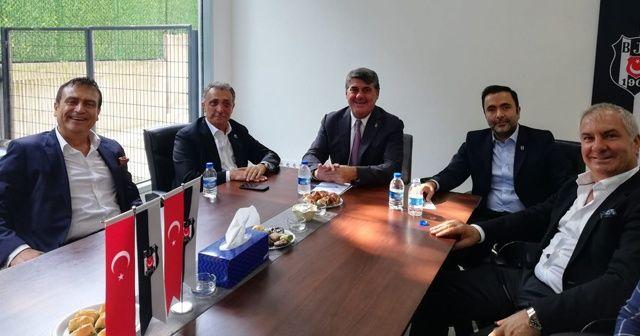 Beşiktaş'ta seçim öncesi 2 güçlü aday bir araya geldi