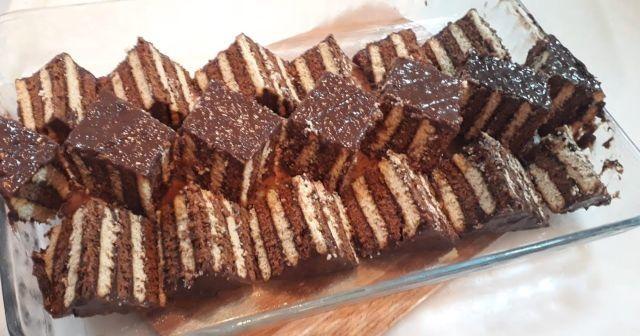 Bisküvili pasta nasıl yapılır? En kolay Bisküvili pasta yapımı ve tarifi (kalıpta bisküvili pasta)