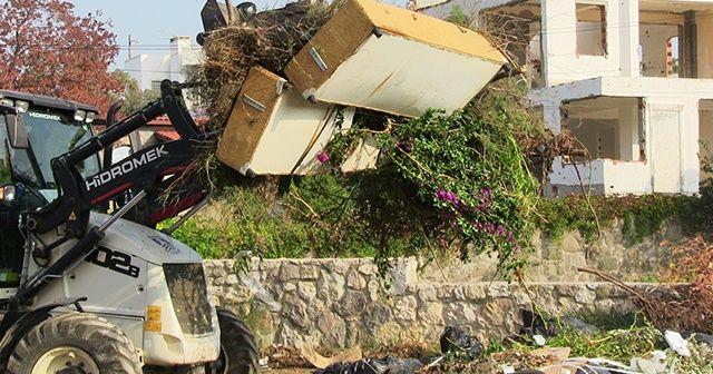 Bodrum'dan 85 ton çöp çıktı