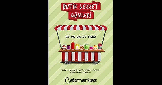 Butik Lezzet Günleri 24 Ekim'de başlıyor