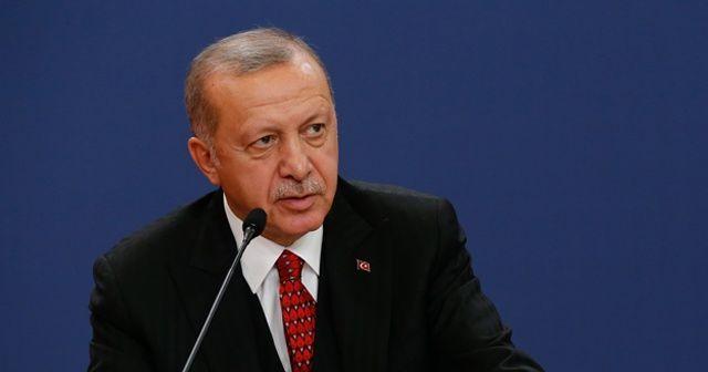 Cumhurbaşkanı Erdoğan: Bu sadece bir yol projesi değil bir barış projesidir