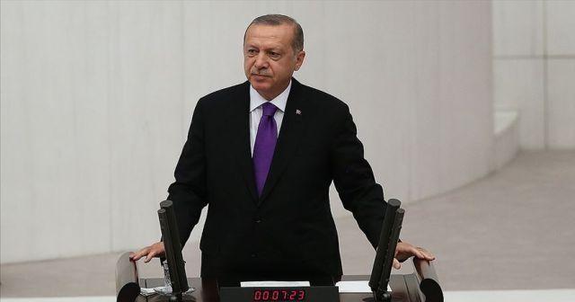 Cumhurbaşkanı Erdoğan, Meclis'te konuştu!