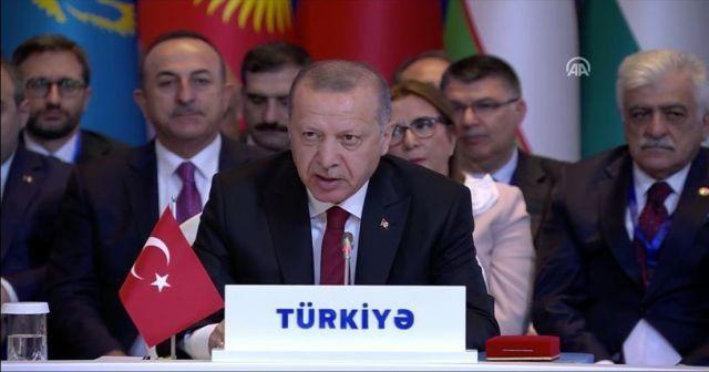 Cumhurbaşkanı Erdoğan: Yaklaşık bin kilometrekarelik alanı terör örgütünün işgalinden kurtardık