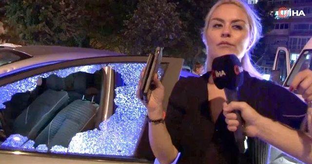 Dehşeti yaşadılar! Kadın sürücü levyeyle saldırdı iddiası