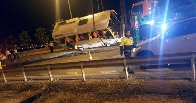 E-5'i kilitleyen kaza: 5 yaralı