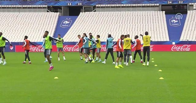 Fransa, Türkiye maçının hazırlıklarını tamamladı