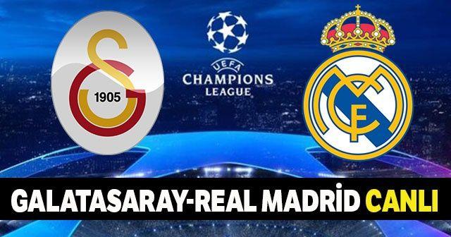 Galatasaray Real Madrid Maçı Canlı izle! GS Real Maçı Şifresiz Veren Kanallar Hangileri? | Beinsports CBC Sport şifresiz canlı izle