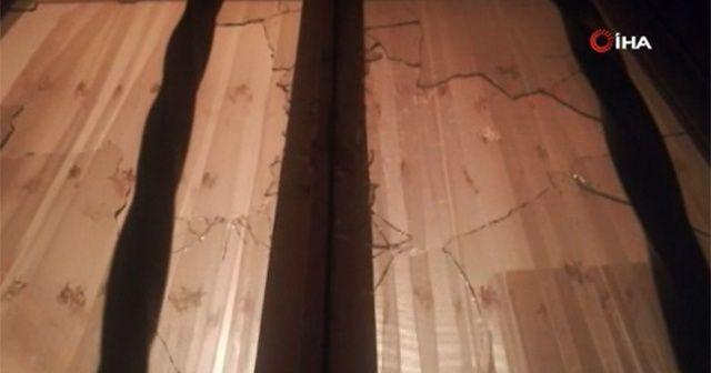 İçerisinde çocukların da bulunduğu eve silahlı saldırı