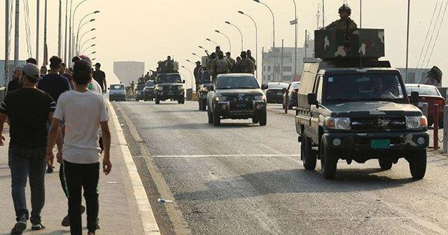 Irak'ta orduya verilen alarm durumuna son verildi