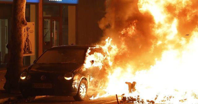 İspanya karıştı! Sokaklar yangın yeri