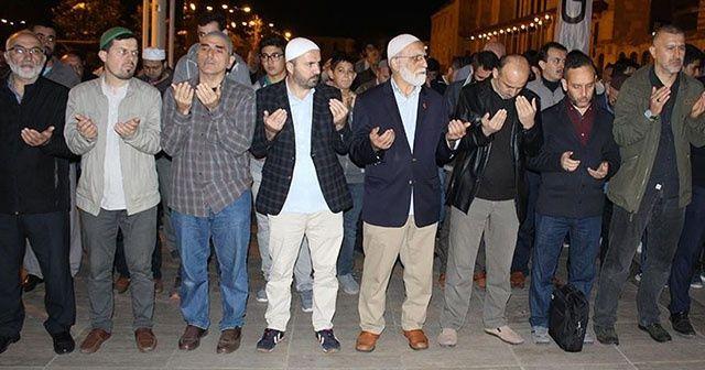 İstanbul'da Keşmir protestosu