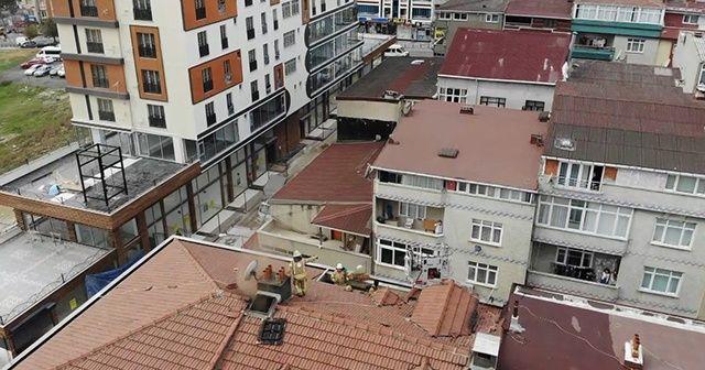 İstanbul Sultangazi'de korkutan yangın!