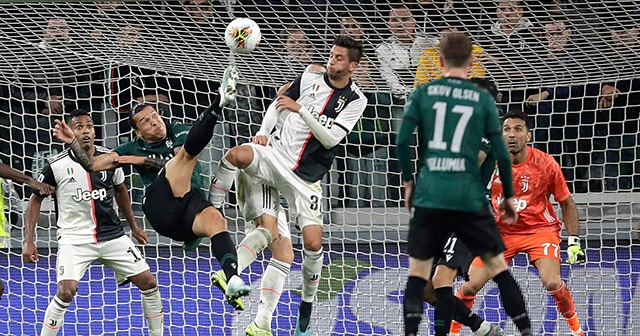 Juventus zorlansa da kazandı