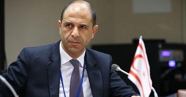 KKTC Başbakan Yardımcısı ve Dışişleri Bakanı Özersay: Türkiye'nin kararlı tutumu sonuç verdi