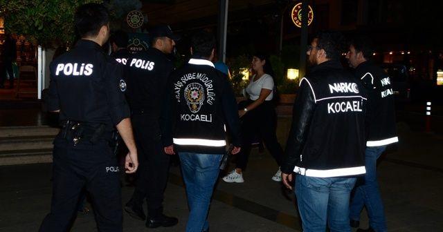 Kocaeli'de farklı suçlardan aranan 28 kişi yakalandı