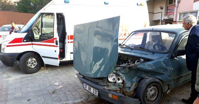 Konser için yola çıkan şarkıcı kazada yaralandı