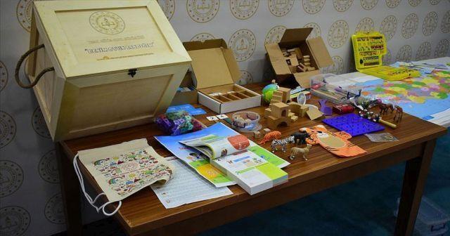 MEB'den okul öncesi çocuklara 'Benim Oyun Sandığım' materyalleri