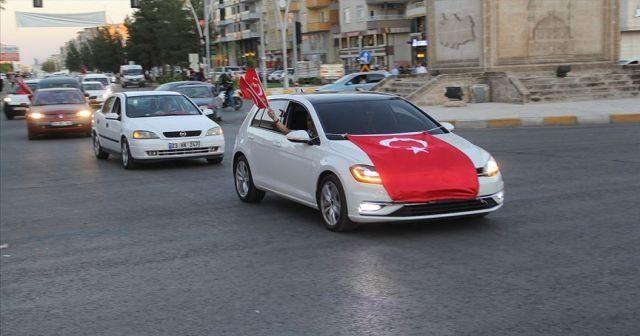 Midyat'ta Barış Pınarı Harekatı'na destek konvoyu
