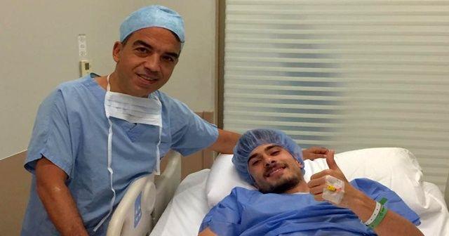 Milli futbolcu ameliyat oldu