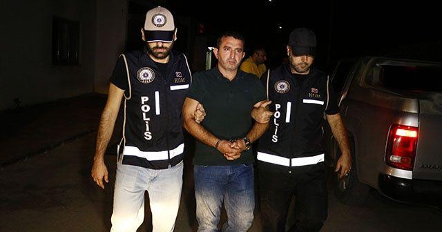 Muğla'da villasında yakalanan çete lideri Adana'ya getirildi