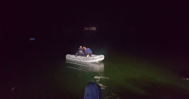 Nehre düşen 2 kişiden biri kayboldu diğeri hastaneye kaldırıldı