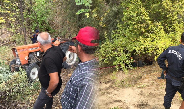 Nevşehir'de traktör devrildi: 1 ölü