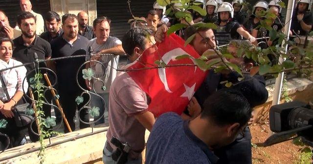 Nusaybinli vatandaştan HDP'li gruba sert tepki!