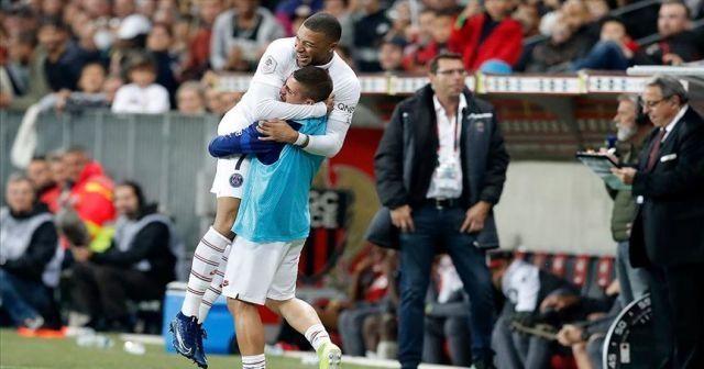 PSG deplasmanda 4 golle kazandı