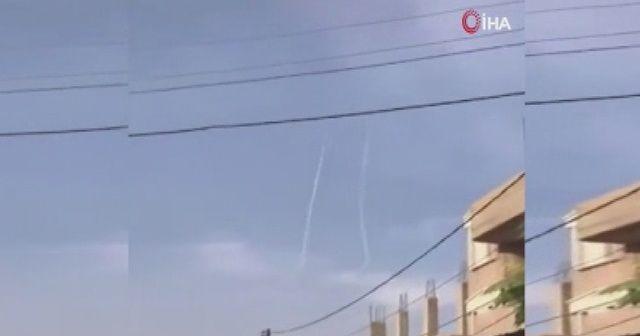 Resulayn'da terör mevzileri vuruluyor