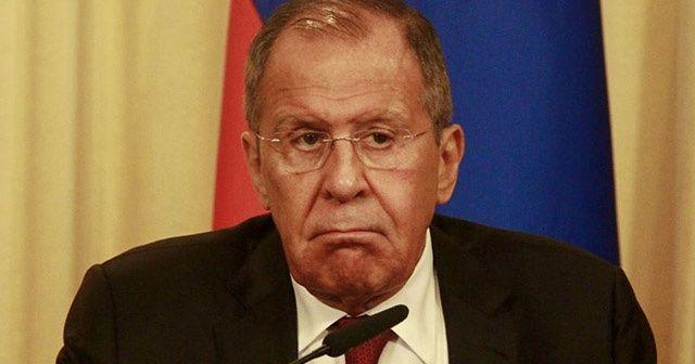 """Rusya Dışişleri Bakanı Sergey Lavrov, """"Suriye'nin toprak bütünlüğü korunmalı"""" dedi."""