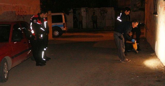 Sokak ortasında silahlı saldırı