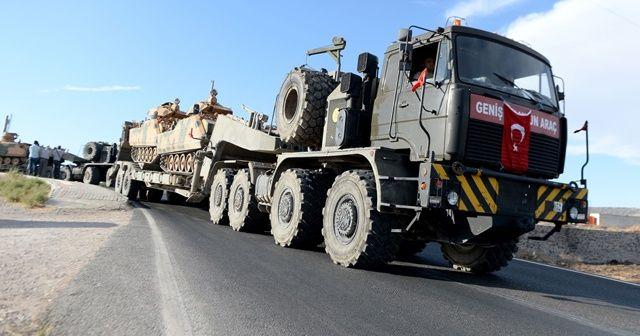 Suriye sınırındaki birliklere takviye