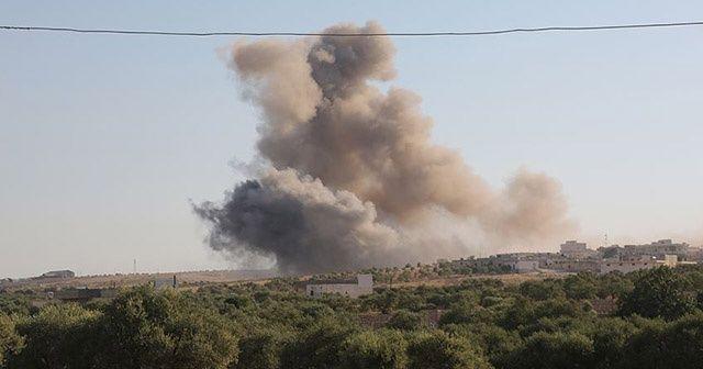 Terör örgütü YPG/PKK'dan Afrin'e topçu saldırısı: 2 yaralı