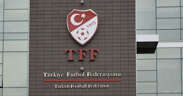 TFF'den Ahmet Nur Çebi'ye kutlama