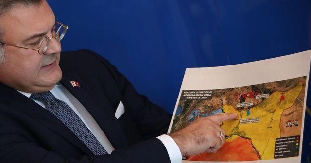 Türk büyükelçiler dünyaya Barış Pınarı Harekatı'nı anlatıyor
