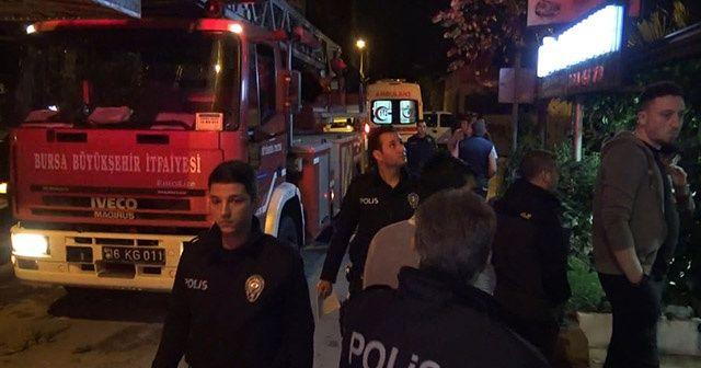 Yangın söndürme malzemesi satılan iş yeri yangın çıktı: 1 ölü