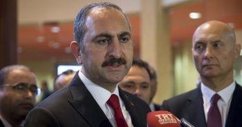 Adalet Bakanı Gül: Türkiye, operasyonu uluslararası hukuk çerçevesinde sürdürmektedir