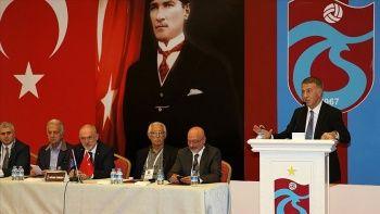 Ağaoğlu: Trabzonspor 2000'den sonra ilk defa borç azalttı