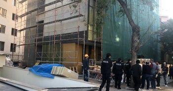 Ankara'da inşaat kazası: 1'i ağır 3 yaralı