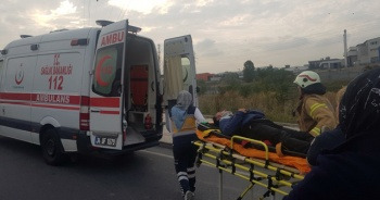Başakşehir'de feci kaza! Servis trafoya çarptı