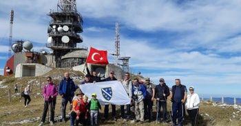 Bosna Hersek'teki Paljenik Zirvesi'nden Mehmetçik'e destek