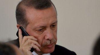 Cumhurbaşkanı Erdoğan'dan millilere tebrik telefonu