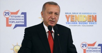 Cumhurbaşkanı Erdoğan: 'Amacımız Fırat'ın doğusunu barış pınarlarıyla sulamaktır'