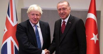 Cumhurbaşkanı Erdoğan, Johnson ile telefonda görüştü