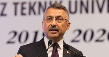 Cumhurbaşkanı Yardımcısı Oktay'dan güvenli bölge açıklaması!