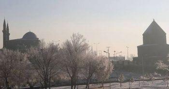 Doğu'daki 3 ilde hava sıcaklığı sıfırın altına düştü
